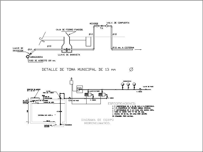 equipo hidroneumático