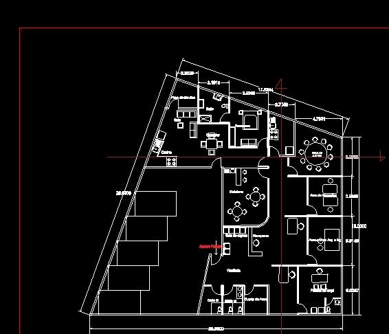 descarga gratis despacho planos y bloques en autocad On despacho de arquitectos planos