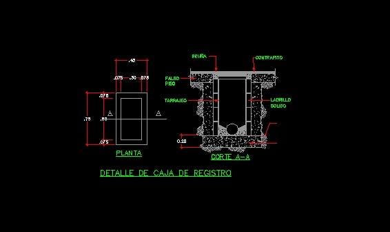 Detalle Caja De Registro