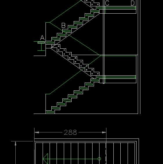 Descarga gratis detalles de escaleras planos y bloques for Escalera de bloque de jardin