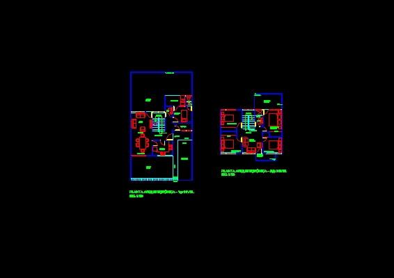 Descarga gratis planos arquitectonicos de vivienda de dos for Niveles en planos arquitectonicos