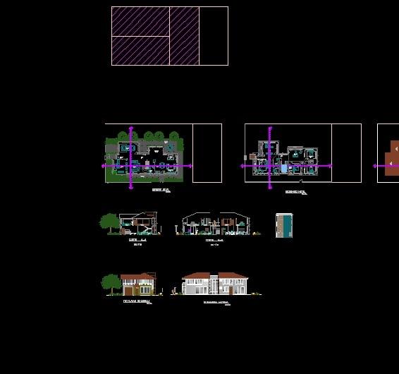 plano casa habitacion