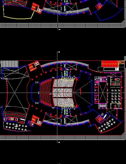 Proyecto arquitectónico de auditorio