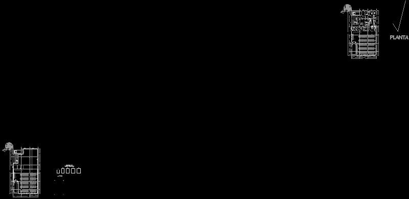 planta de un comedor comunitario