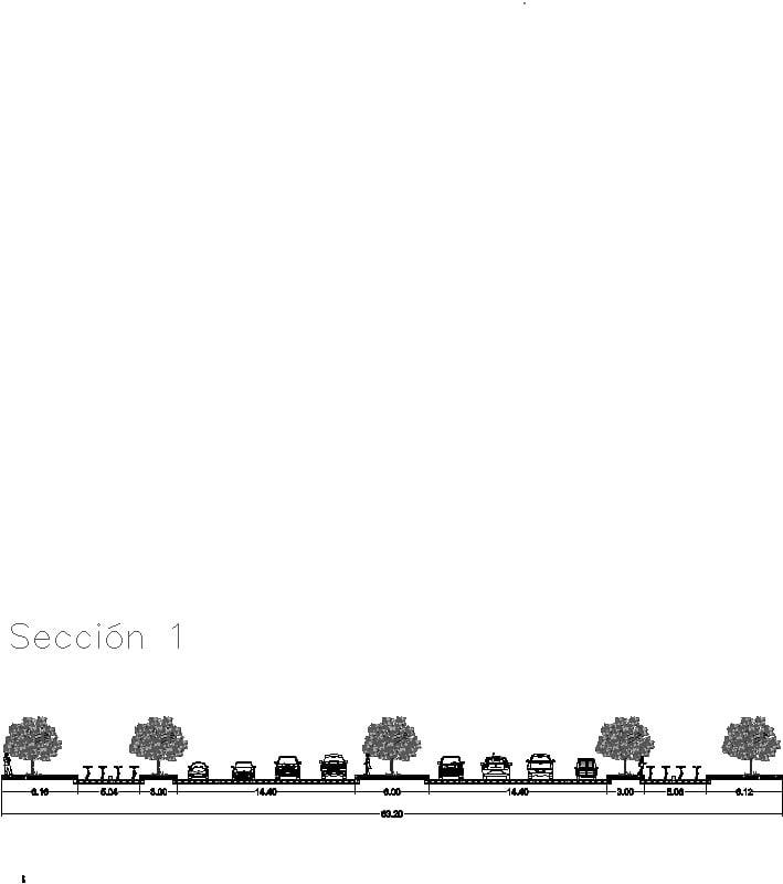 Secciones Viales