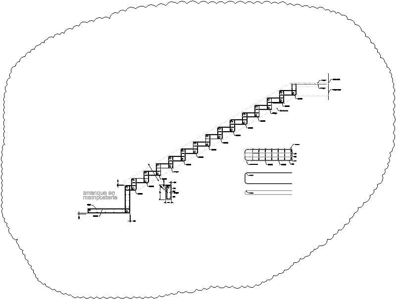 Armado de escalera