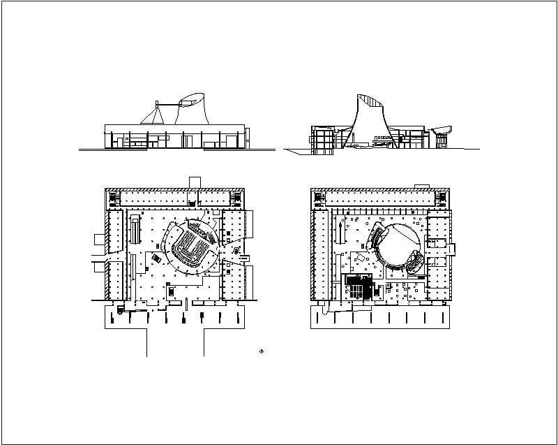 Chandigarh - Palacio de la Asamblea Le-Corbusier
