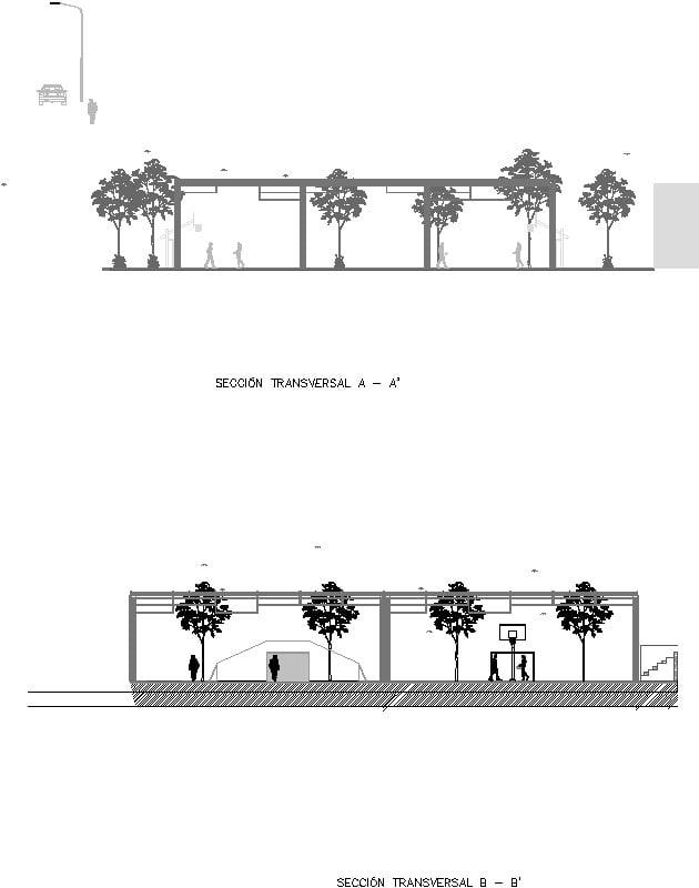 Secciónes de Parque