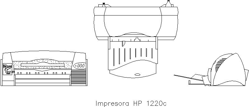 plano de impresora hp