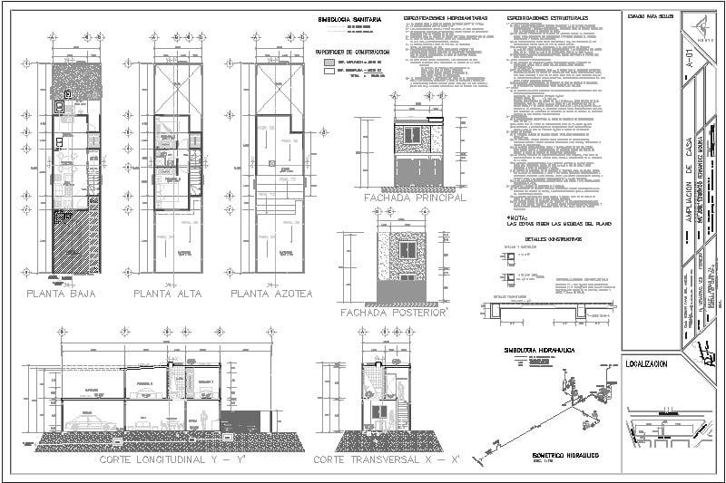 ampliación casa habitación