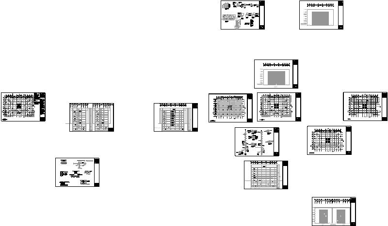 Planos estructurales de un edificio
