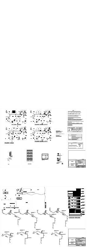 Diseño de instalaciones de gas en edificio residencial