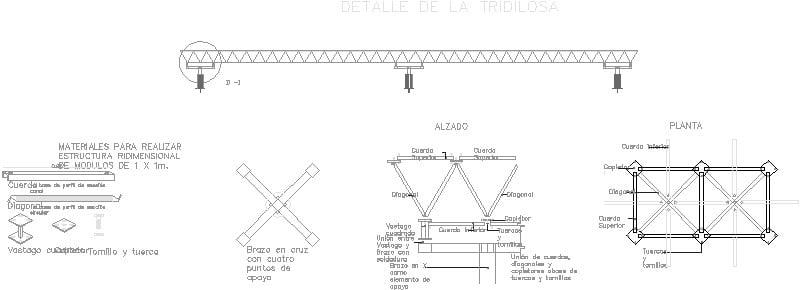 Detalle Tridilosa