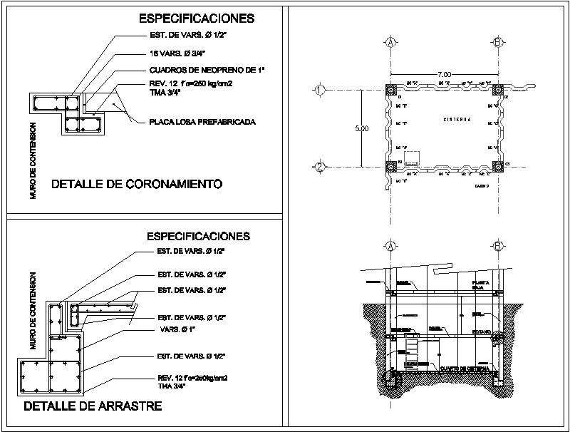 cisterna prefabricada