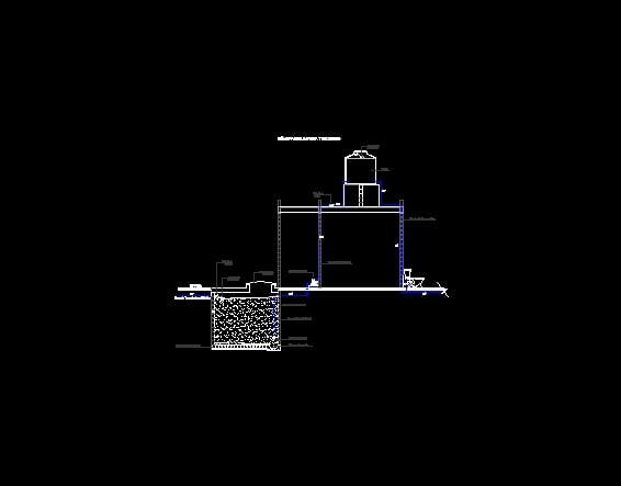 Sistema hidraulico por gravedad