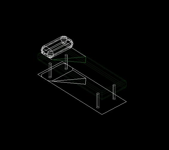 Descarga gratis cama individual 0 70m s lido 3d planos for Cama 3d autocad