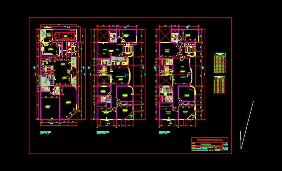 diseño de casa muultifamiliar