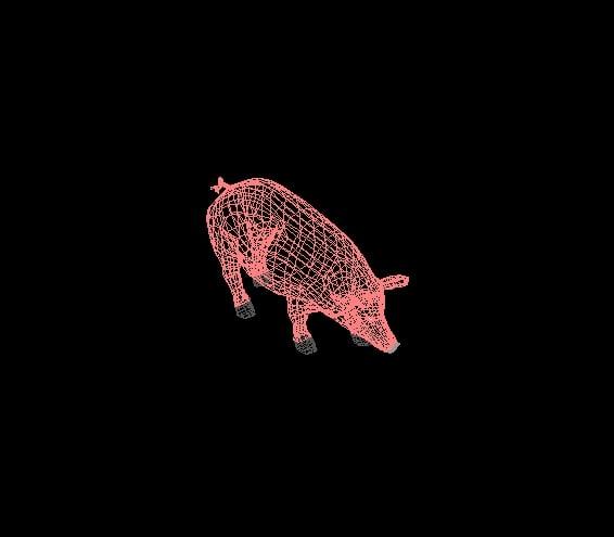 animales en 3de