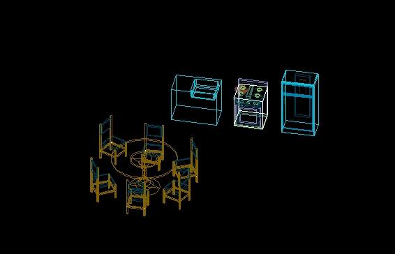 Mobiliario 3d