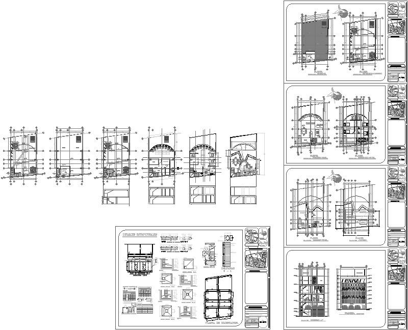 Oficinas Granjas Estructura