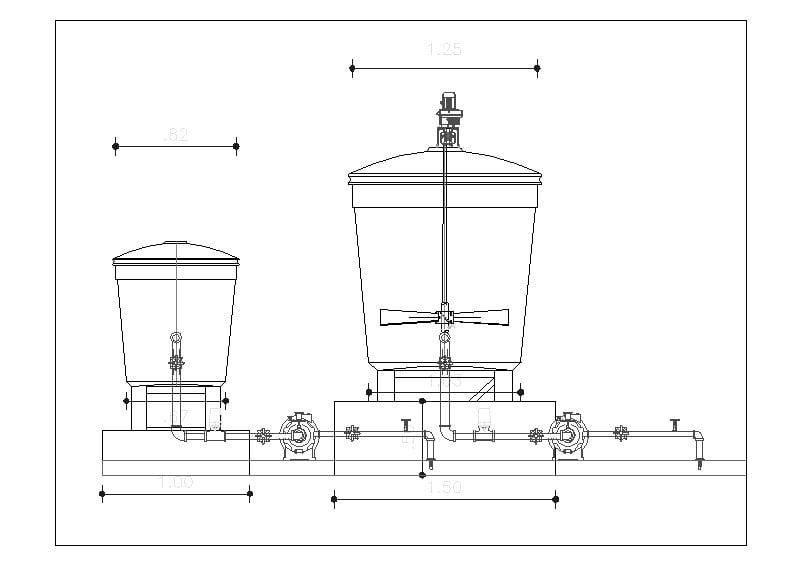 tanques de mezcla
