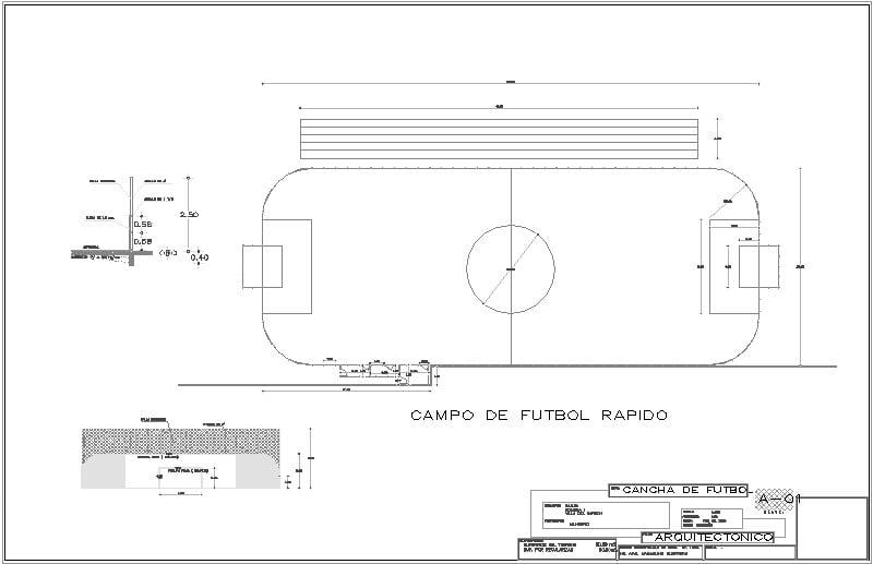 cancha de fut ball