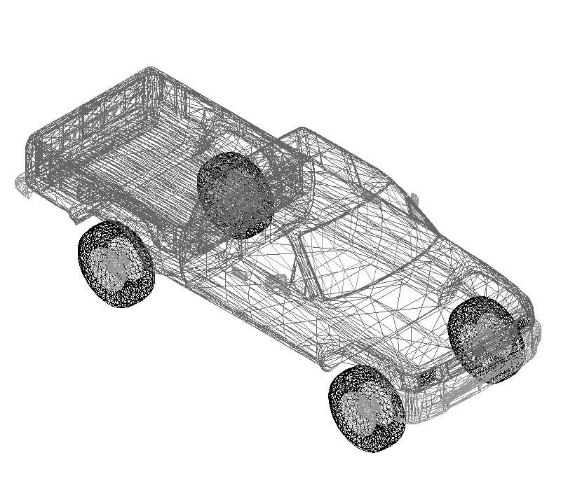 Toyota hilux 3D