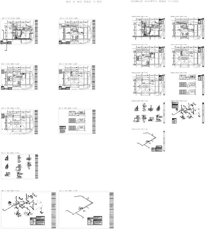 Instalaciones hidráulicas residencia