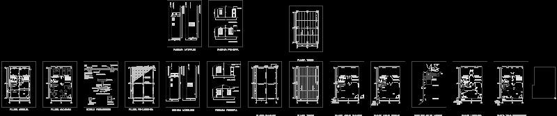 planos para construir Casa de 50 m2