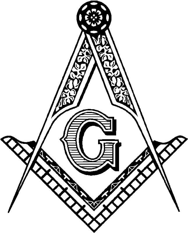 Simbolo Masonico del compas