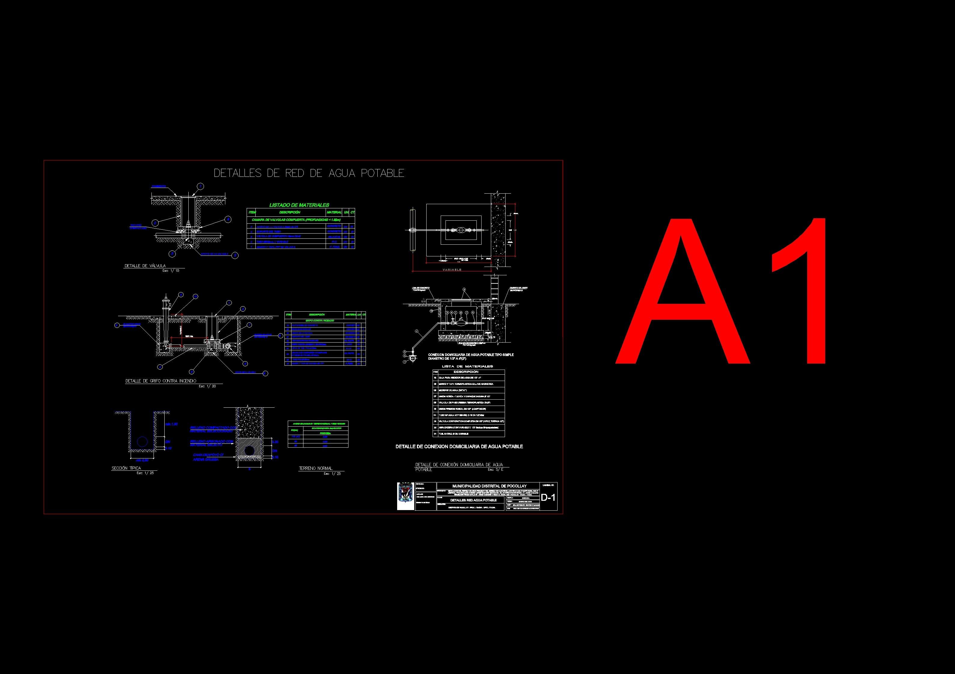 Descarga gratis detalle de agua planos y bloques en autocad sobre arquitectura y construcci n - Bloques autocad grifos ...