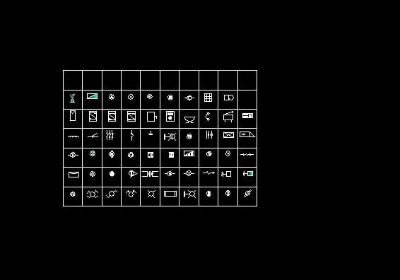 Descarga Gratis Simbologia Planos Y Bloques En Autocad