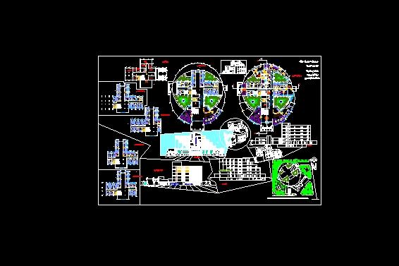 Descarga gratis hospital planos y bloques en autocad for Planos de arquitectura pdf