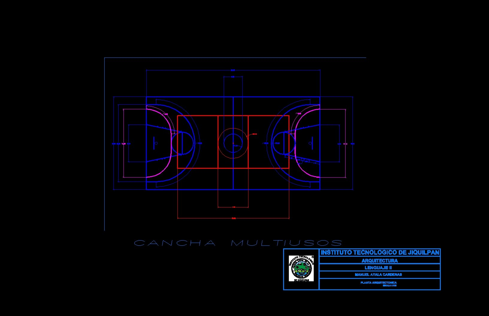 cancha multiusos