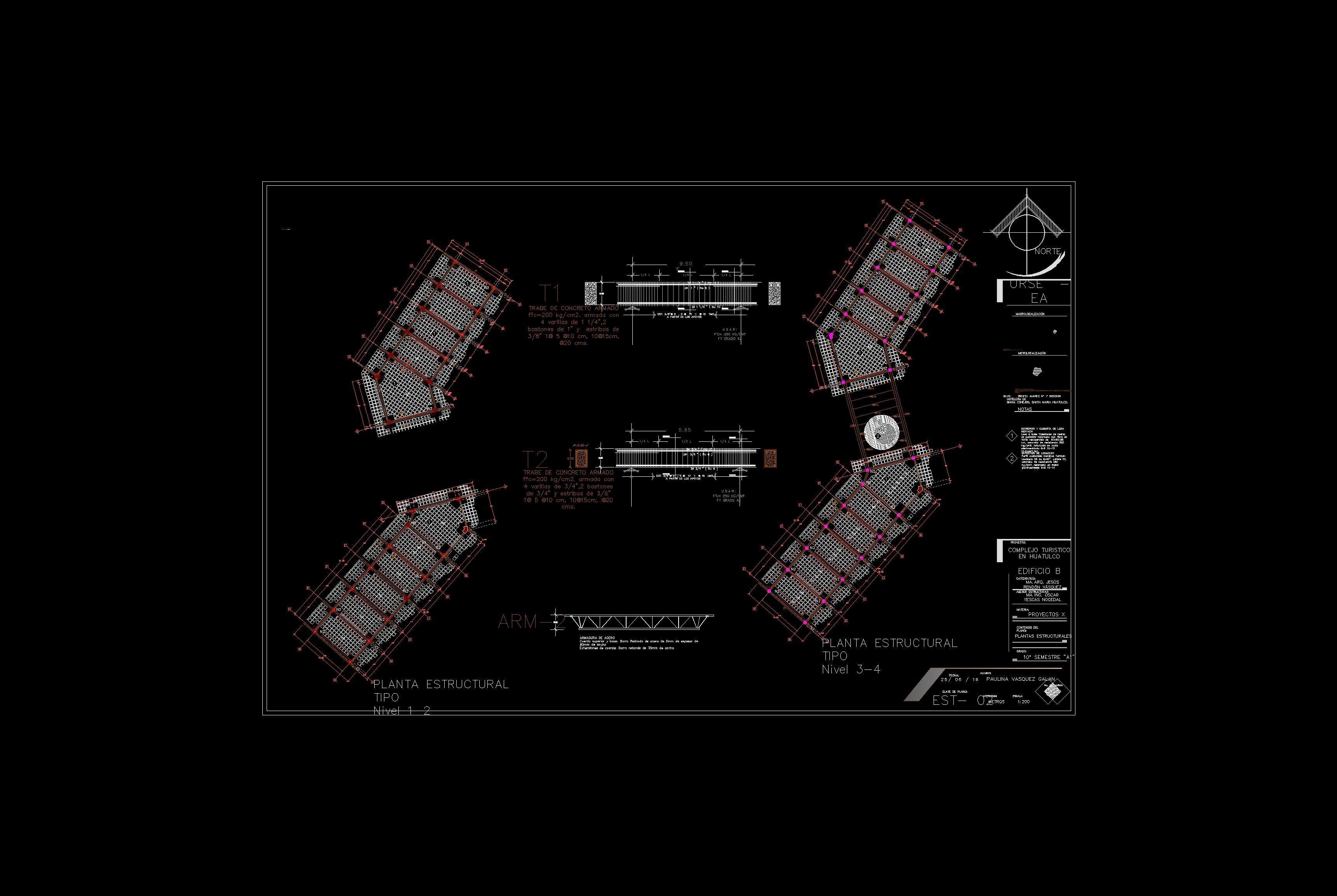 Proyecto de Edificio de Habitaciones de Hotel