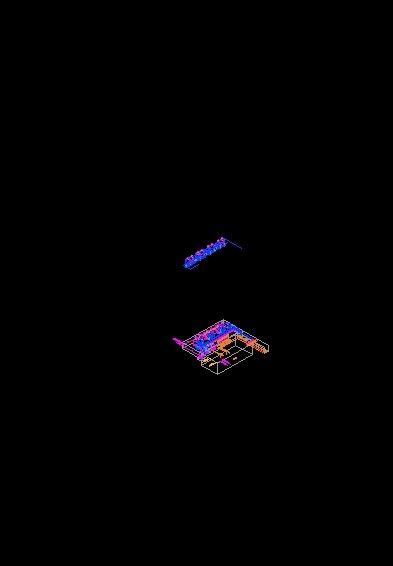 isometrico cuarto de maquinas alberca