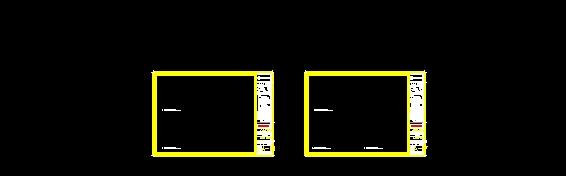 Cuadro de datos amarillo