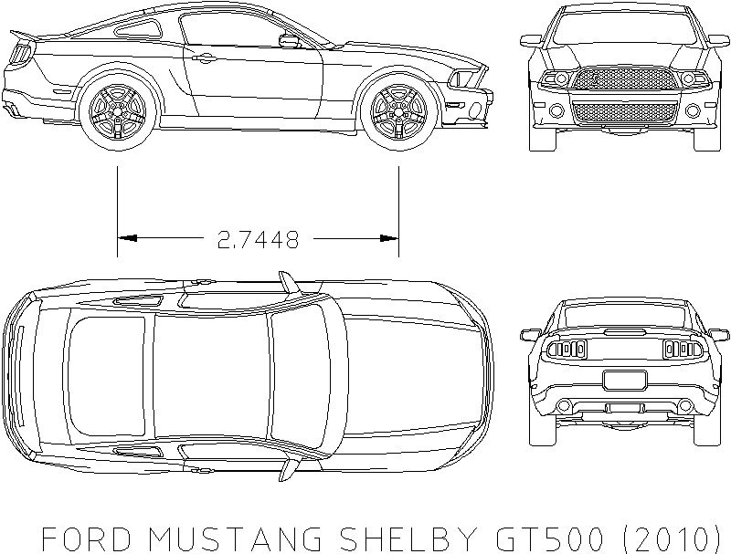 Ford Mustang Shelby 2010