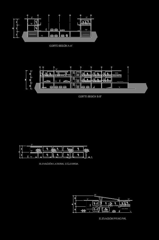 planos plaza comercial