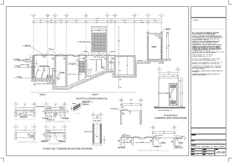 planta de tratamiento de aguas negras