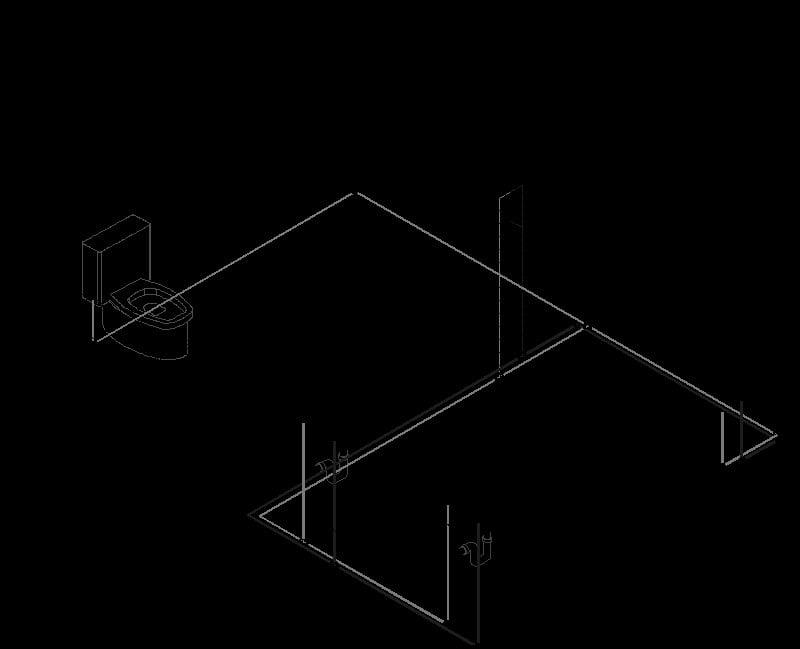 Isometrico Intalacion Hidraulica Y Sanitaria