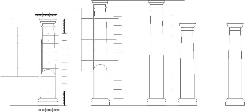 columna toscana