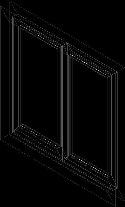 ventana en 3d