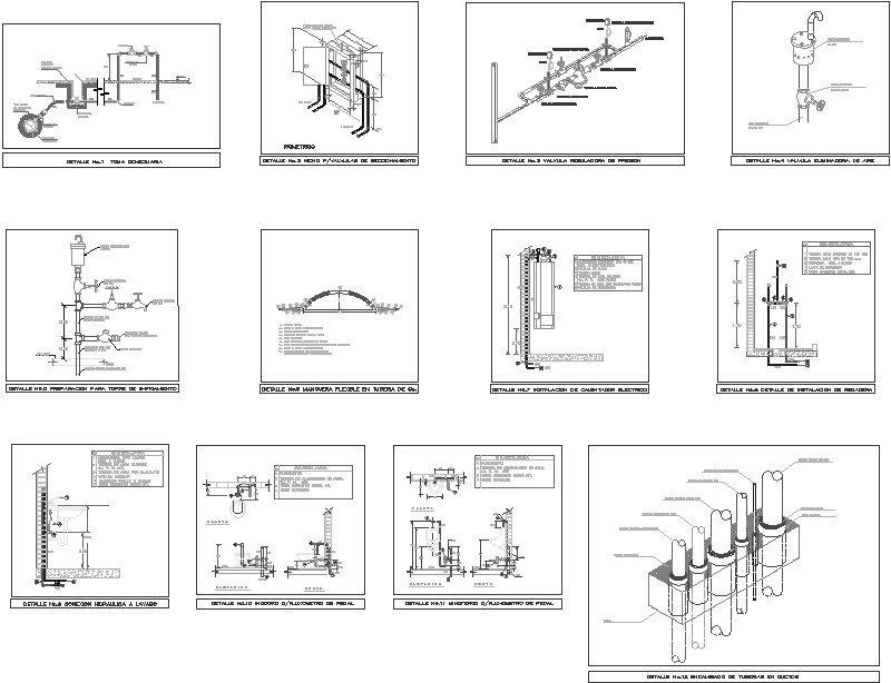 Detalles Instalacion Hidraulica