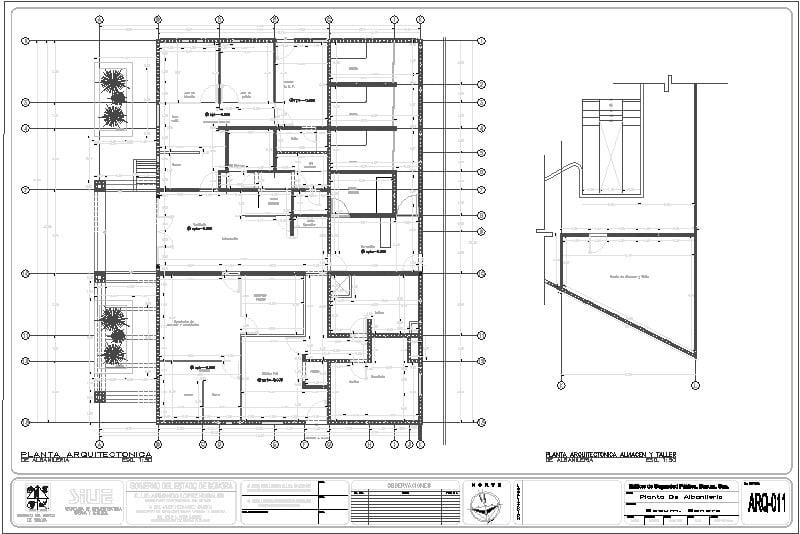 Plano Arquitectónico 4 Seguridad Publica
