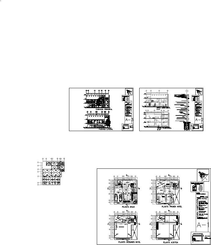 Casa habitación de dos niveles / Ana