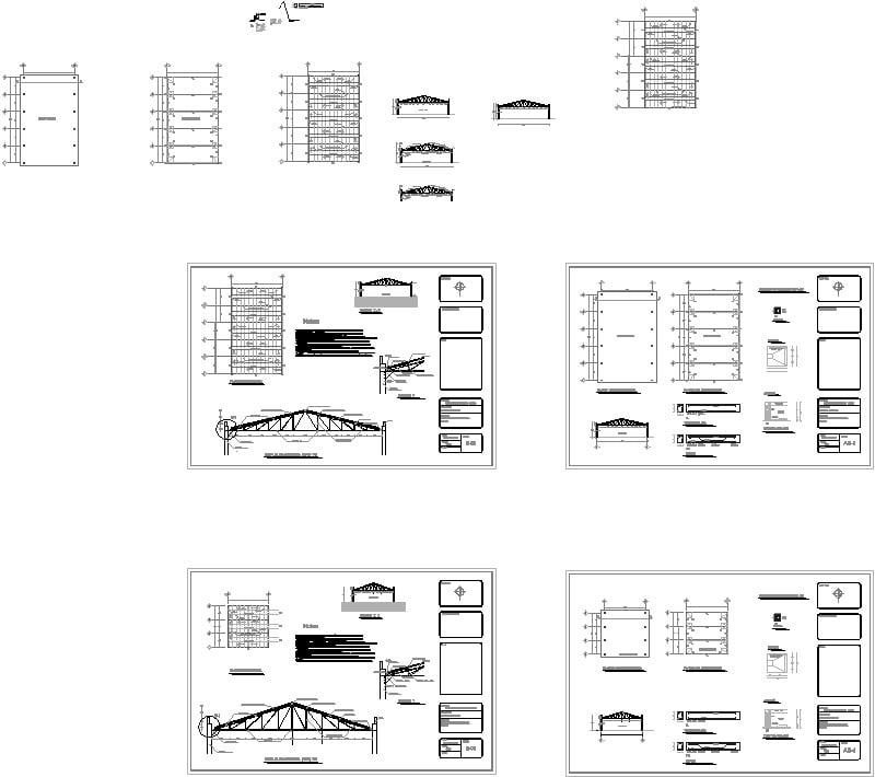 planos de techumbre
