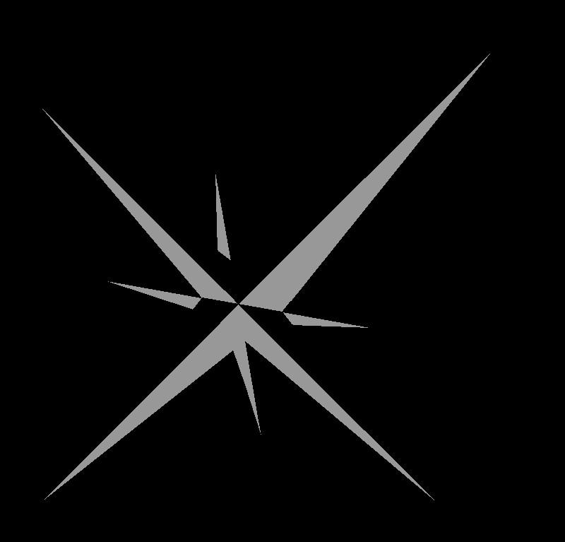 símbolo norte