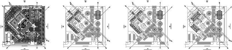 Planta Arquitectonica Hotel
