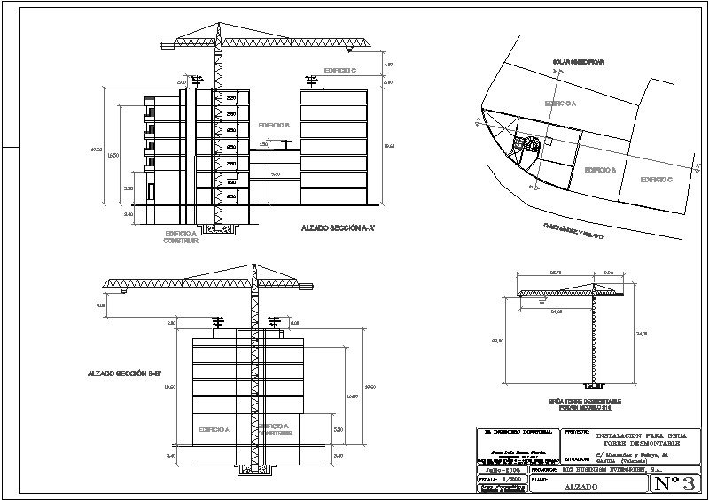 proyecto grua torre